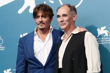 Johnny Depp Mark Rylance Waiting for the Barbarians Mostra Venecia