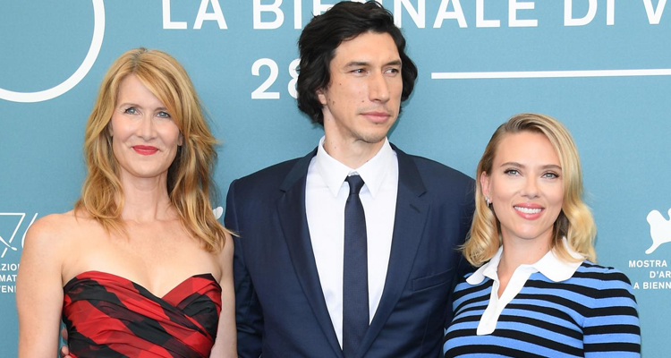Marriage Story Adam Driver Scarlett Johansson Laura Dern