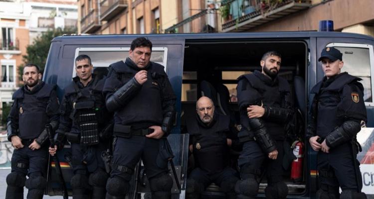 Antidisturbios Rodrigo Sorogoyen